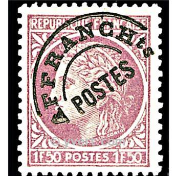 n° 91A -  Selo França Pré-obliterados