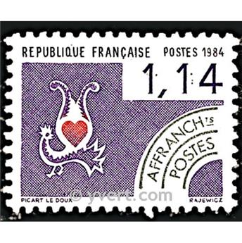 n° 182 -  Selo França Pré-obliterados