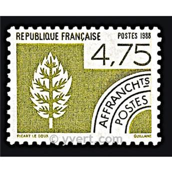 n° 201 -  Selo França Pré-obliterados