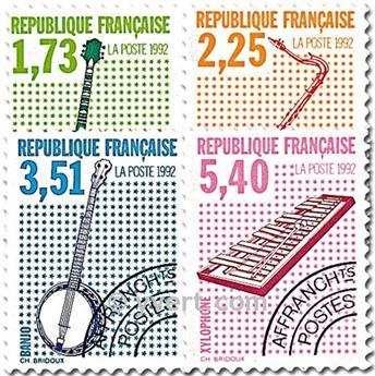 n° 224/227 -  Selo França Pré-obliterados