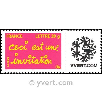 nr. 3760B -  Stamp France Personalized Stamp