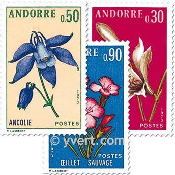 n° 229/231 -  Selo Andorra Correios