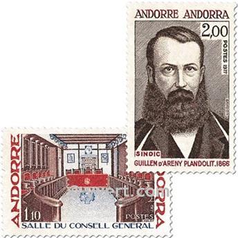 n° 265/266 -  Selo Andorra Correios