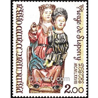 n° 271 -  Selo Andorra Correios