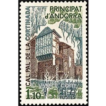 nr. 282 -  Stamp Andorra Mail