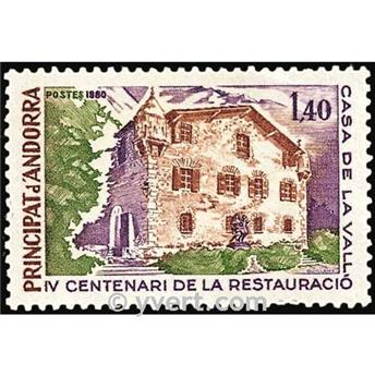 n° 289 -  Selo Andorra Correios