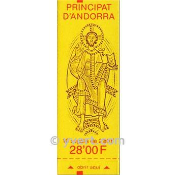 nr. 5 -  Stamp Andorra Booklets