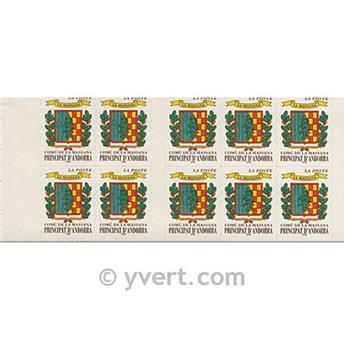 nr. 9 -  Stamp Andorra Booklets