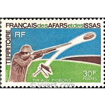 n° 361 -  Selo Afars e Issas Correios