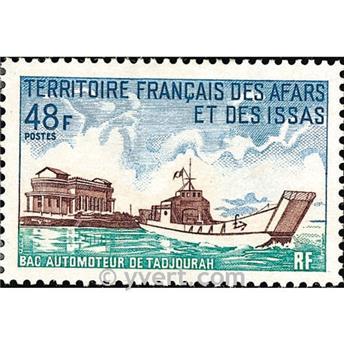 n° 367 -  Selo Afars e Issas Correios