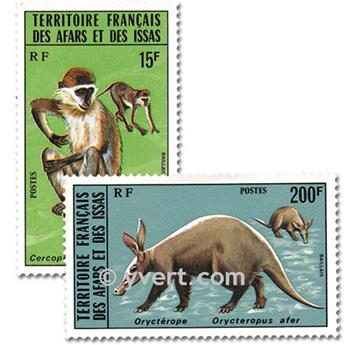 nr. 408/409 -  Stamp Afars and Issas Mail