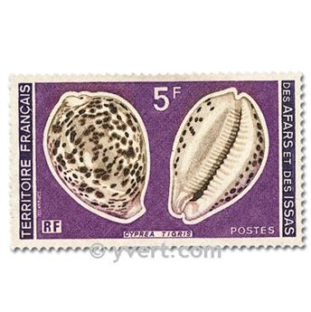 nr. 443/444 -  Stamp Afars and Issas Mail