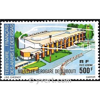 nr. 109 -  Stamp Afars and Issas Air mail