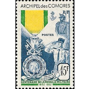 n.o 12 -  Sello Comoras Correos