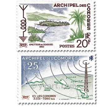 nr. 17/18 -  Stamp Comoro Island Mail