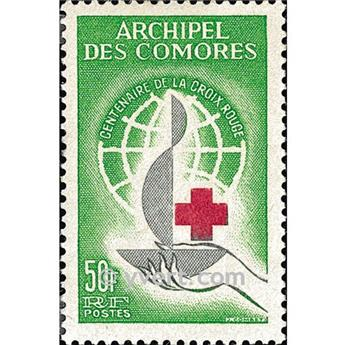 nr. 27 -  Stamp Comoro Island Mail