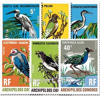 n° 63/68 -  Selo Comores Correios