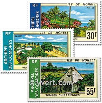 n° 101/103 -  Selo Comores Correios