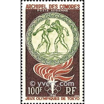 n.o 12 -  Sello Comoras Correo aéreo