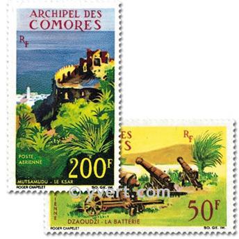 n° 18/19 -  Timbre Comores Poste aérienne
