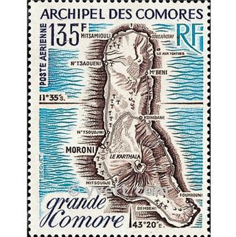 n° 53 -  Selo Comores Correio aéreo