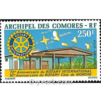nr. 66 -  Stamp Comoro Island Air mail