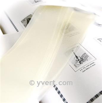 Tiras soldura simples -  70 mm (Fundo transparente)