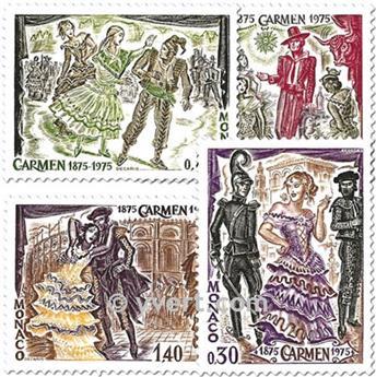 nr. 1006/1009 -  Stamp Monaco Mail