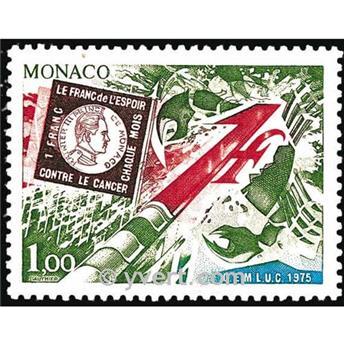 n.o 1014 -  Sello Mónaco Correos