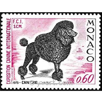 n.o 1037 -  Sello Mónaco Correos