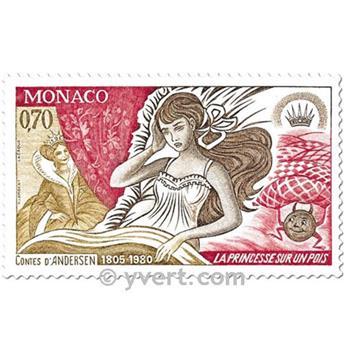 n.o 1235/1240 -  Sello Mónaco Correos