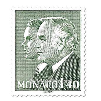 n° 1281/1285 -  Selo Mónaco Correios