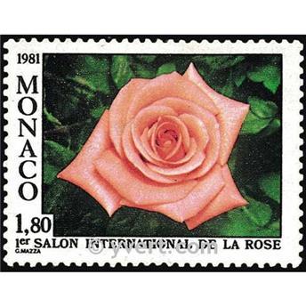 n° 1297 -  Selo Mónaco Correios