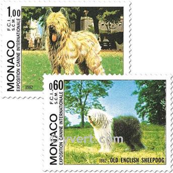 n° 1329/1330 -  Selo Mónaco Correios