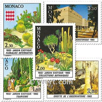 n.o 1360/1364 -  Sello Mónaco Correos