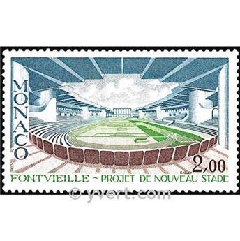 nr. 1370 -  Stamp Monaco Mail