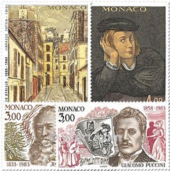 n° 1389/1392 -  Timbre Monaco Poste