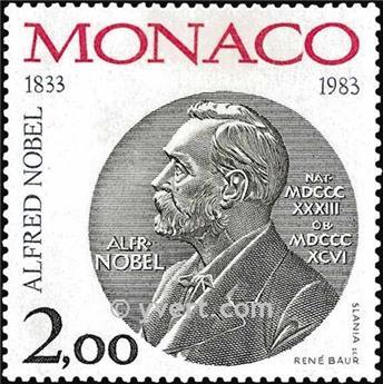 n° 1401 -  Timbre Monaco Poste