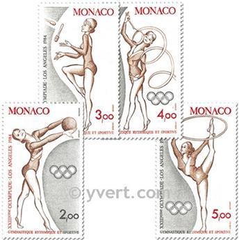 n° 1412/1415  (BF 27)-  Timbre Monaco Poste