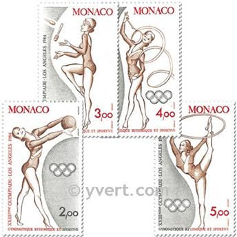 nr. 1412/1415 (BF 27) -  Stamp Monaco Mail