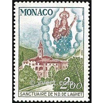 n° 1426 -  Timbre Monaco Poste