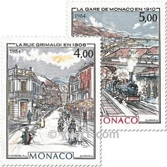 n° 1433/1434 -  Timbre Monaco Poste