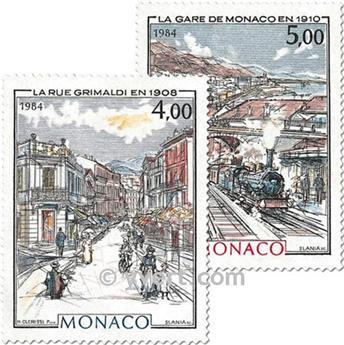 nr. 1433/1434 -  Stamp Monaco Mail