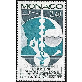 nr. 1450 -  Stamp Monaco Mail
