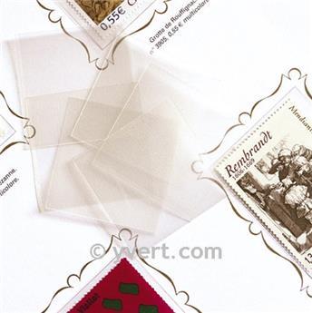 Pochettes simple soudure - Lxh:53x48mm (Fond transparent)