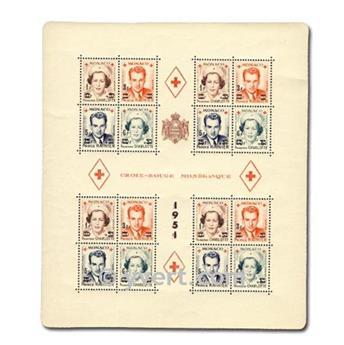 nr. 4A -  Stamp Monaco Souvenir sheets
