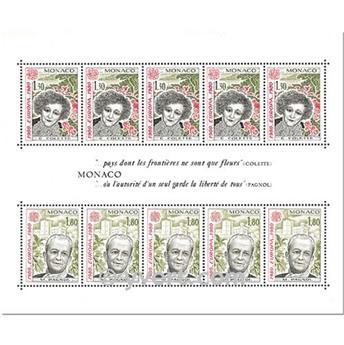 n° 18 -  Timbre Monaco Bloc et feuillets