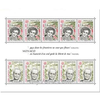 nr. 18 -  Stamp Monaco Souvenir sheets