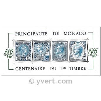 n.o 32 -  Sello Mónaco Bloque y hojitas