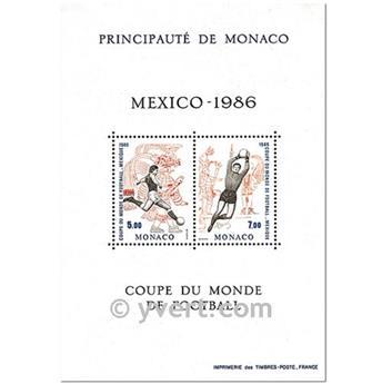 n.o 35 -  Sello Mónaco Bloque y hojitas